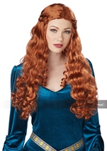 Lady Guinevere Auburn Woman Wig