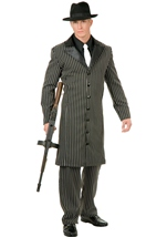 Retro Gangster Men Costume