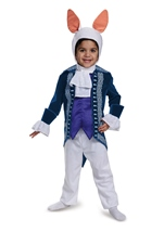White Rabbit Alice Wanderland Kids Costume