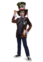 Mad Hatter Alice Looking Through Glass Boys Costume