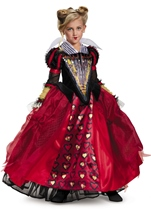 Red Queen Disney Alice Movie Girls Costume