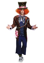 Alice Looking Through Glass Mad Hatter Adult Costume