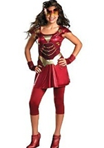Tween Ironman Girl Halloween Costume