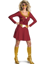 Classic Iron Woman  Costume