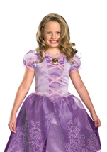 Rapunzel Tangled Purple Kids Costume