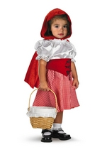Little Red Riding Hood Toddler Costume