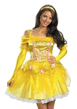 Disney Princess Belle Beauty Woman Costume