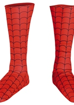 Boys Spider Man Boot Covers