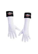 Power Ranger White Kids Gloves