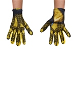 Yellow Power Ranger Girls Gloves