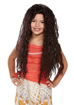 Moana Deluxe Girls Wig