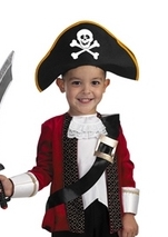 El Captain Kids Costume