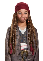 Jack Sparrow Boys Bandana With Dreads