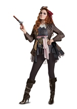 Captain Jack Pirates of Caribbean Woman Costume
