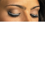 Rhinestone Glitter Cross Lashes