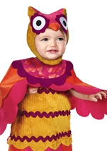 Cute Hoot Owl Toddler Costume