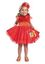 Elmo Frilly Sesame Girls Costume