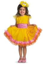 Big Bird Sesame Street Girls Costume