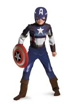 Marvel Captain America Retro Classic Boys Costume