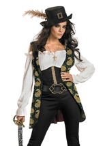 Angelica Deluxe Pirate Woman Costume