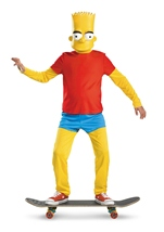 Bart Simpsons Boys Deluxe Costume