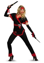 Dragon Lady Women Ninja Costume