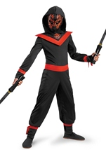 Neon Ninja Glow In The Dark Costume