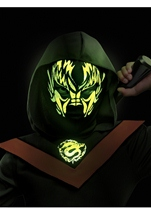 Kids Neon Ninja Glow In The Dark Costume