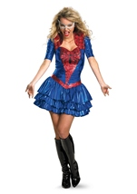 Adult Deluxe Sassy Spider Girl Costume