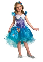 Ariel Disney Princess Girls Costume