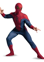 Deluxe The Amazing Spider Man Movie Costume