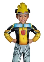 Bumblebee Rescue Bot Toddler Boys Halloween Costume