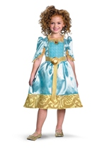 Merida Girls The Brave Costume