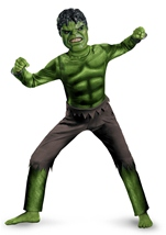 The Avengers Hulk Classic Boys Costume