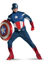 Captain America Avenger Theater Quality Costume