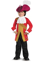 Jake And Neverland Captain Hook Classic Costume