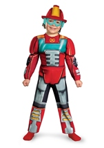 Heatwave Rescue Bot Toddler Boys Costume