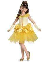 Belle Prestige Disney Princess Girls Costume