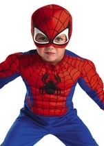 Spider Man Toddler Muscle Costume