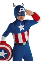 Boys Captain America Classic Costume