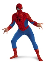 Deluxe Spider Man Men Costume