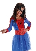 Girls Spider Girl Costume