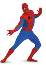 Boys Spider Man Deluxe Bodysuit Costume