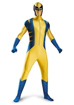 Wolverine Deluxe Bodysuit Costume Men