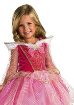 Kids Aurora Ballerina Disney Princess Costume