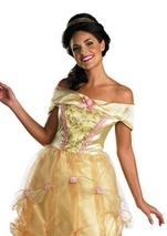 Disney Princess Belle Beauty and The Beast Woman Costume