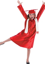 Cap And Gown Graduation Kids Costume