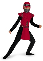 Ninja Boys Red Costume