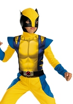 Wolverine Origins Boys Costume
