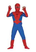 Kids Spiderman Boys Costume